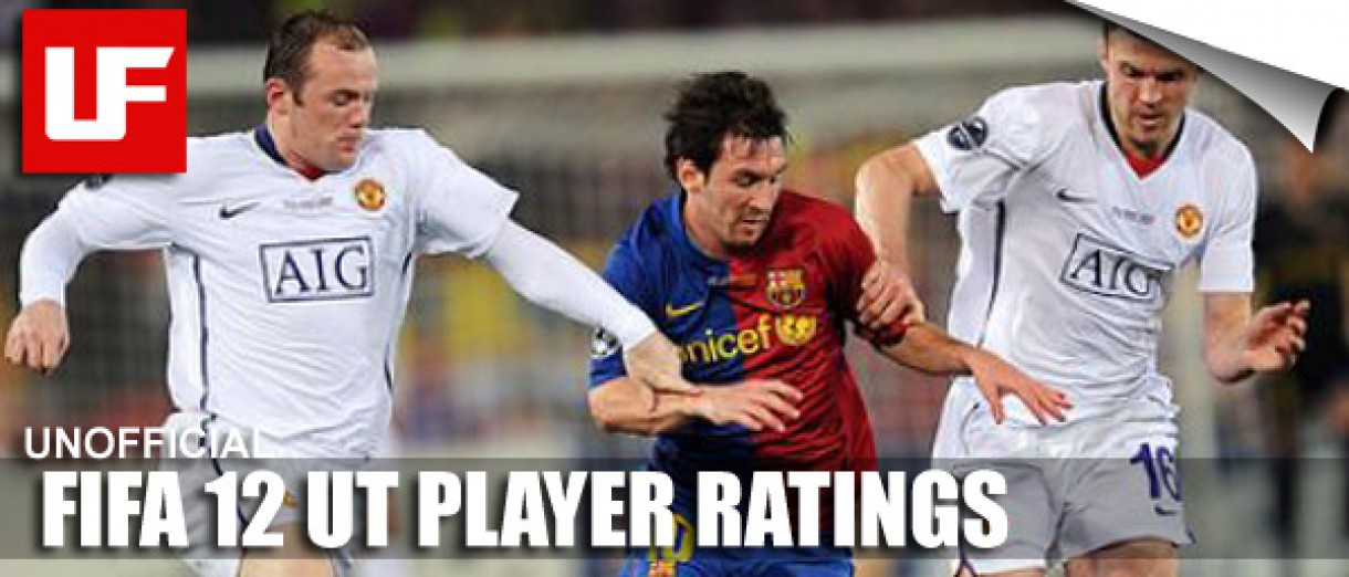 FIFA 12 Ultimate Team Player Ratings