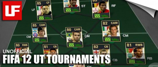 FIFA 12 Ultimate Team Tournaments  FIFA 12 UT Tournaments FIFA 12 Ultimate Team Tournaments