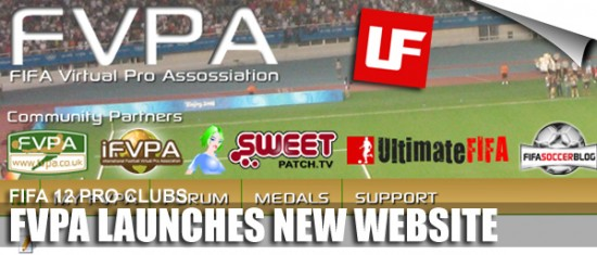 FVPA Pro Clubs Website  FVPA Launch New Virtual Pro Website FVPA Pro Clubs Website