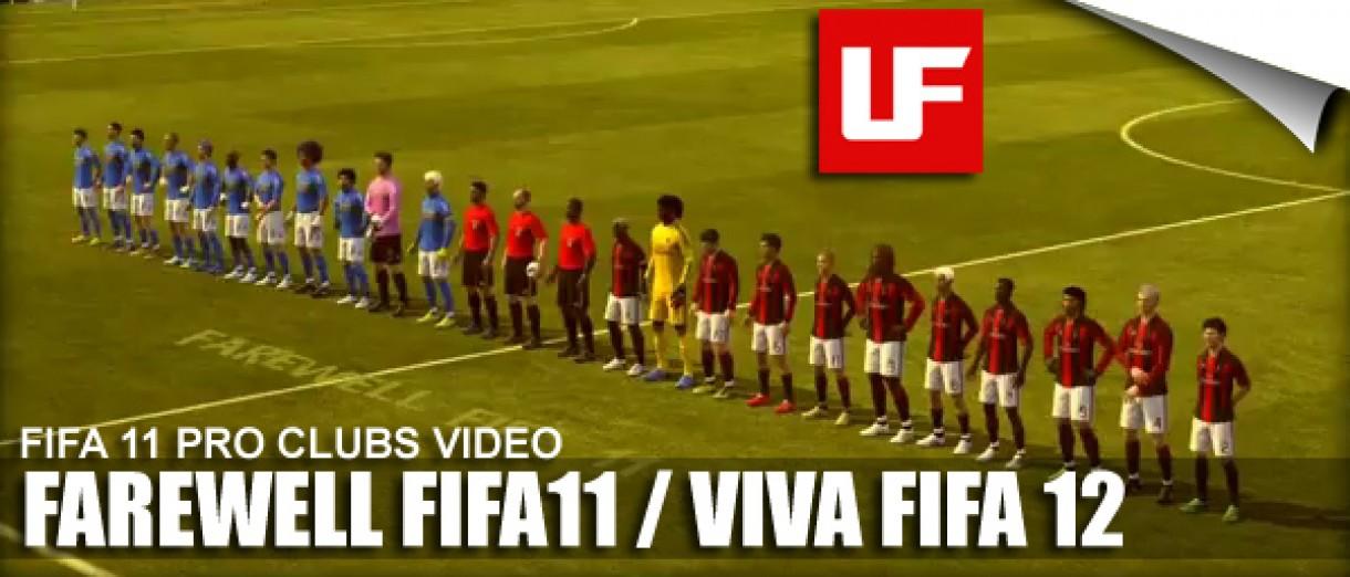 VIVA FIFA 12 PRO CLUBS