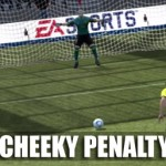 FIFA 12 – A Cheeky Penalty Cheat