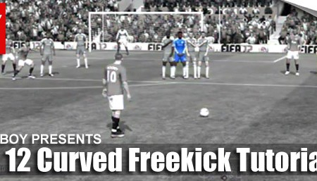 FIFA 12 Curved Free Kick Tutorial