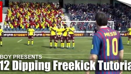 FIFA 12 Dipping Free Kick Tutorial
