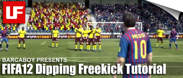 FIFA 12 Dipping Freekick Tutorial
