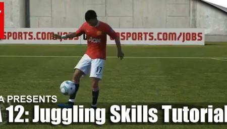 FIFA 12 Juggling, Fancy Flicks and Fancy Passes Tutorial