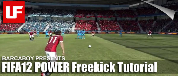 FIFA 12 Power Freekick Tutorial
