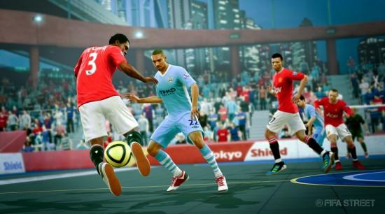 FIFA Street Man United v Man City in Tokyo  New FIFA Street Screenshots FIFA Street Man United v Man City in Tokyo