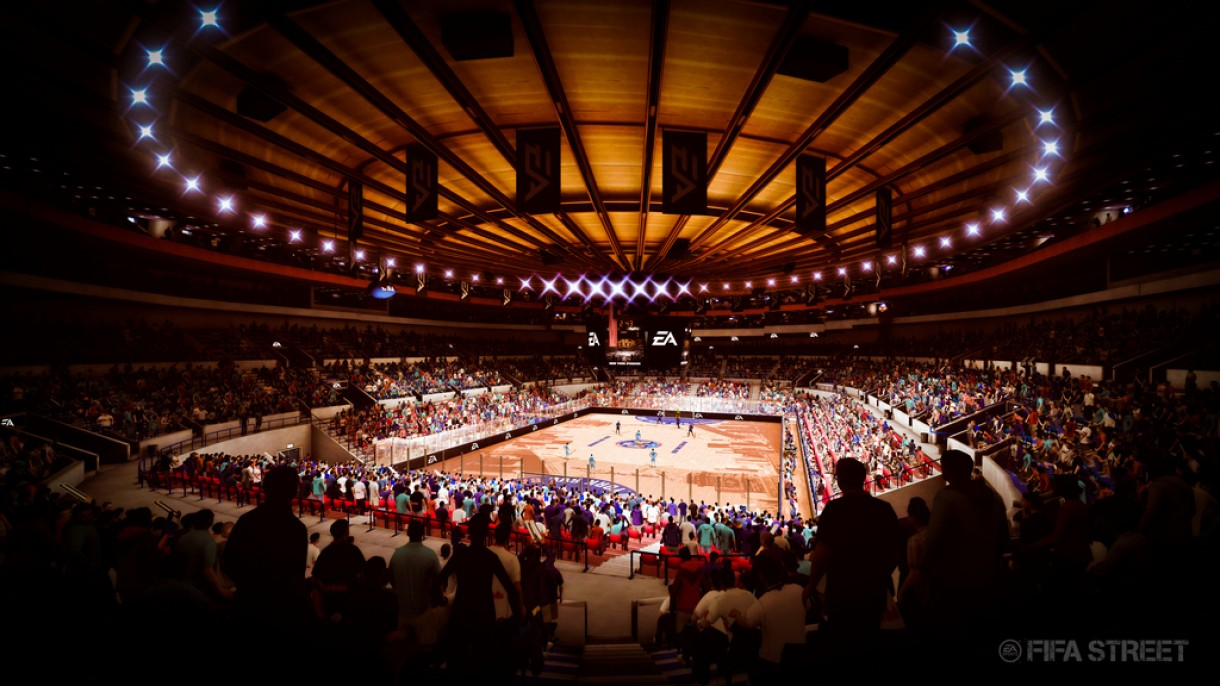 FIFA Street New York stadium