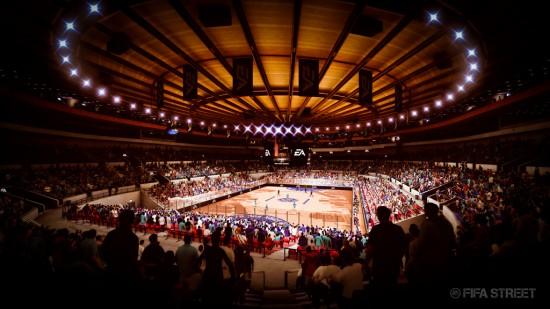 FIFA Street New York stadium  New FIFA Street Screenshots FIFA Street New York stadium