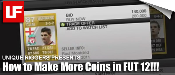 More FIFA 12 Ultimate Team Tips