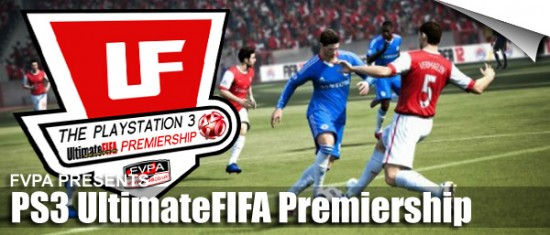 PS3 UltimateFIFA Premiership  FVPA Announce: PS3 UltimateFIFA Premiership PS3 UltimateFIFA Premiership