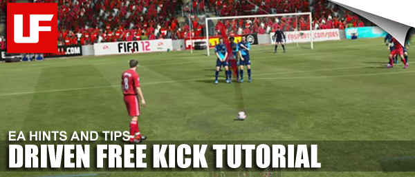 FIFA 12 Driven Free Kick Tutorial