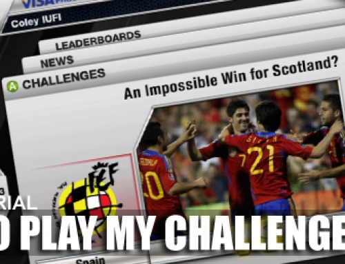 How to play FIFA 12 My Challenges