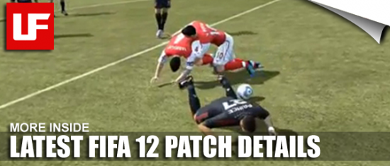 FIFA 12 PATCH  New FIFA 12 Patch Details FIFA 12 PATCH