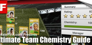 FIFA 12 Ultimate Team Chemistry Guide