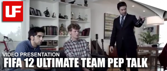 FIFA 12 Ultimate Team Pep Talk