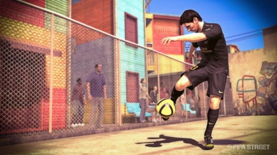 FIFA STREET Messi Buenos Aires  Official FIFA Street Cover FIFA STREET Messi Buenos Aires