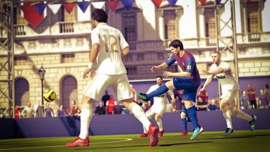 Official FIFA Street Cover FIFA Street Screenshot 1