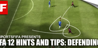 FIFA 12 Hints and Tips: Defending