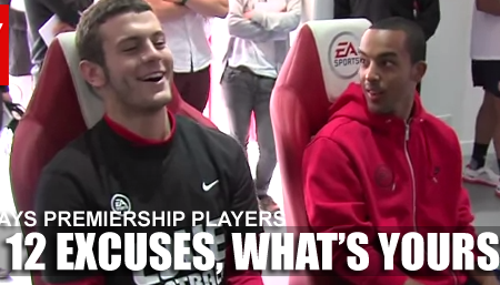 FIFA 12 Premier League Players Excuses