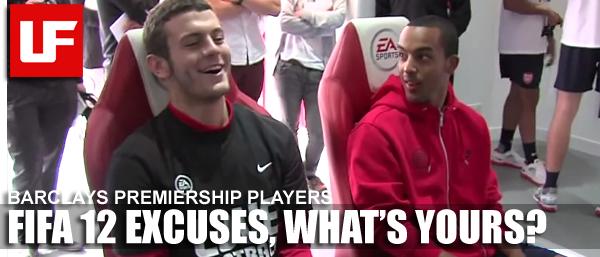 FIFA 12 Excuses