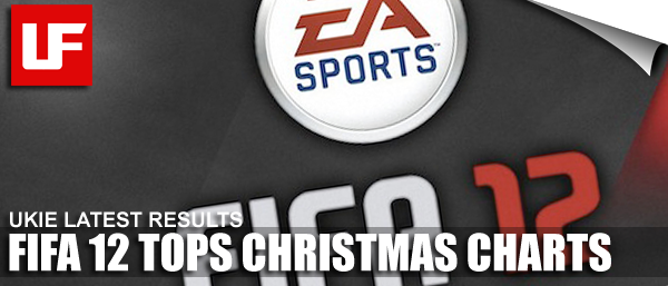 FIFA 12 Tops Christmas Charts