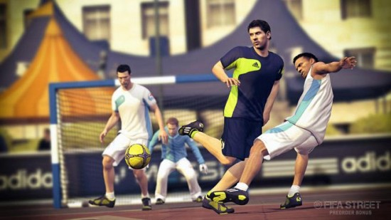 FIFA Street Messi Back Heel Shot  FIFA Street: Messi Pre Order Offer fifa street messi back heel shot