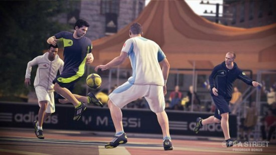 FIFA Street Messi Rainbow Flick  FIFA Street: Messi Pre Order Offer fifa street messi rainbow flick