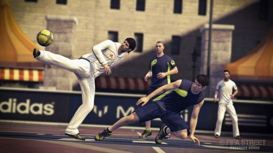 FIFA Street Silva Flick Over Defender  FIFA Street: Messi Pre Order Offer fifa street silva flick over defender