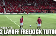 FIFA 12 Hints & Tips Layoff FreeKick Tutorial