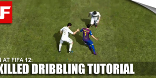 FIFA 12 Skilled Dribbling Tutorial