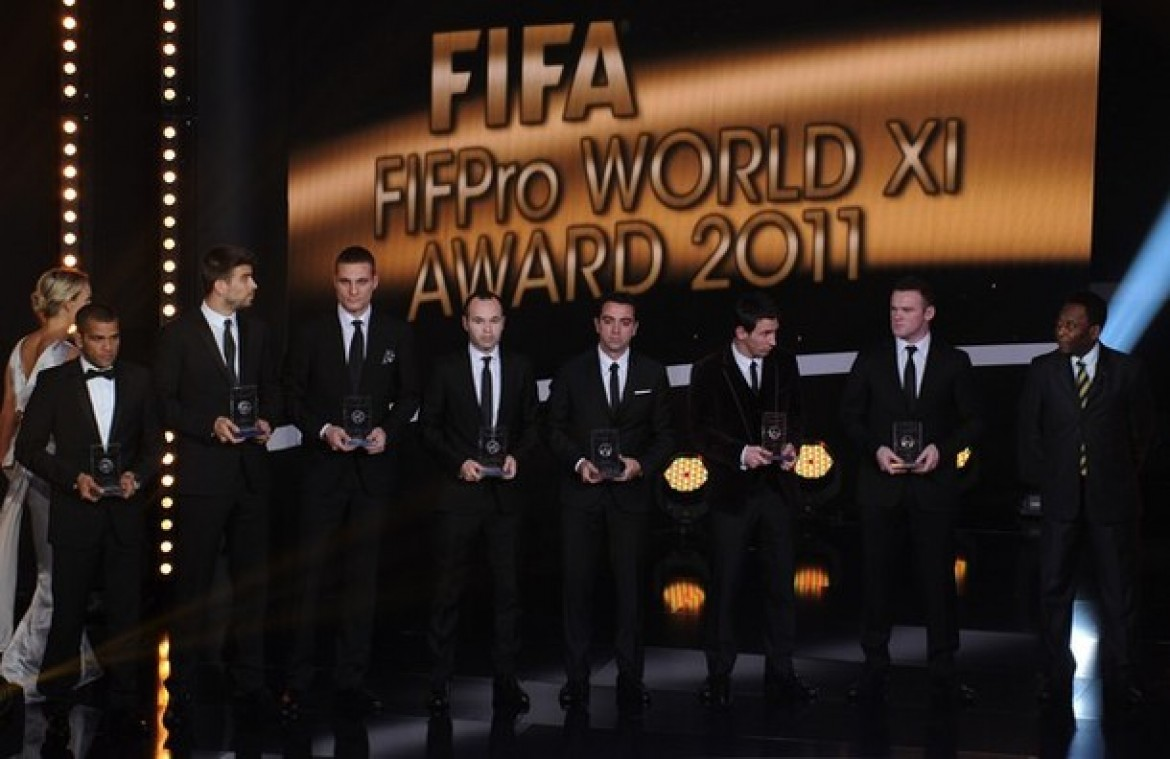 FIFA 12 Ultimate Team of the Year 2011