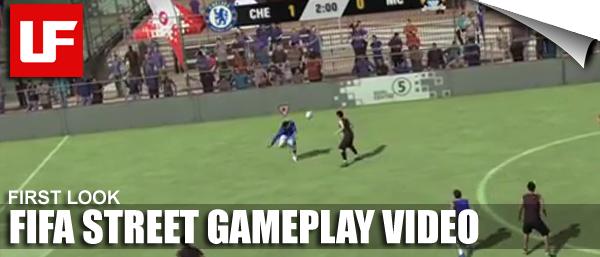 FIFA Street Gameplay