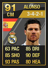 TOTY Alonso  Ultimate Team of the Year FULL In Game Stats: Midfielders TOTY Alonso1