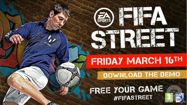 Download the FIFA Street Demo