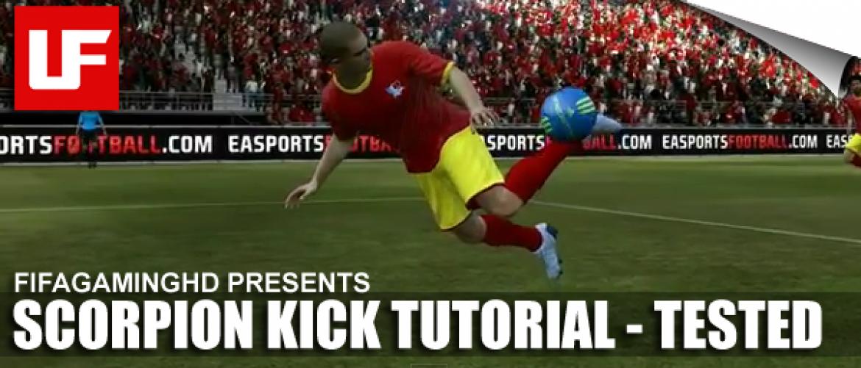 FIFA 12 Scorpion Kick Tutorial