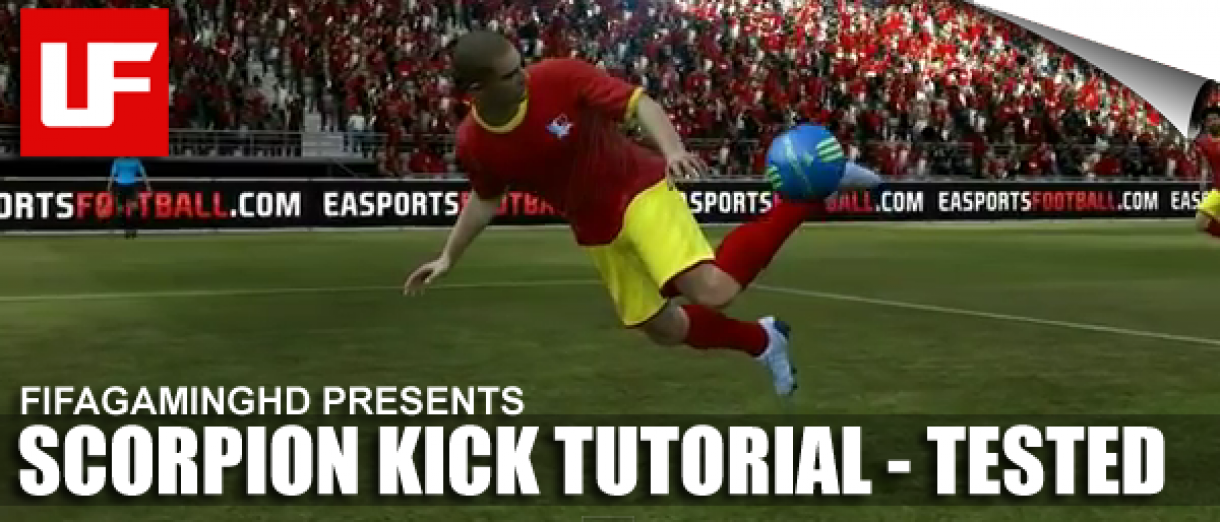 FIFA 12 Scorpion Kick Tutorial