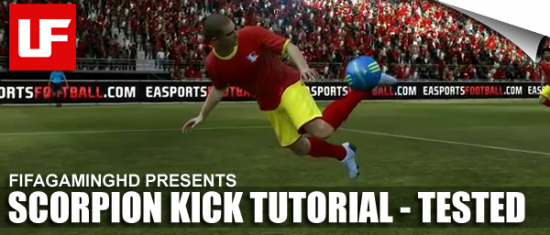 FIFA 12 Scorpion Kick Tutorial  FIFA 12 Scorpion Kick Tutorial (Tried and Tested!) FIFA 12 Scorpion Kick Tutorial