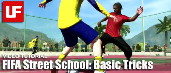 FIFA Street Basic Skill Moves  FIFA Street School: Basic Tricks FIFA Street Basic Skill Moves