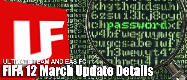 FIFA 12 Update