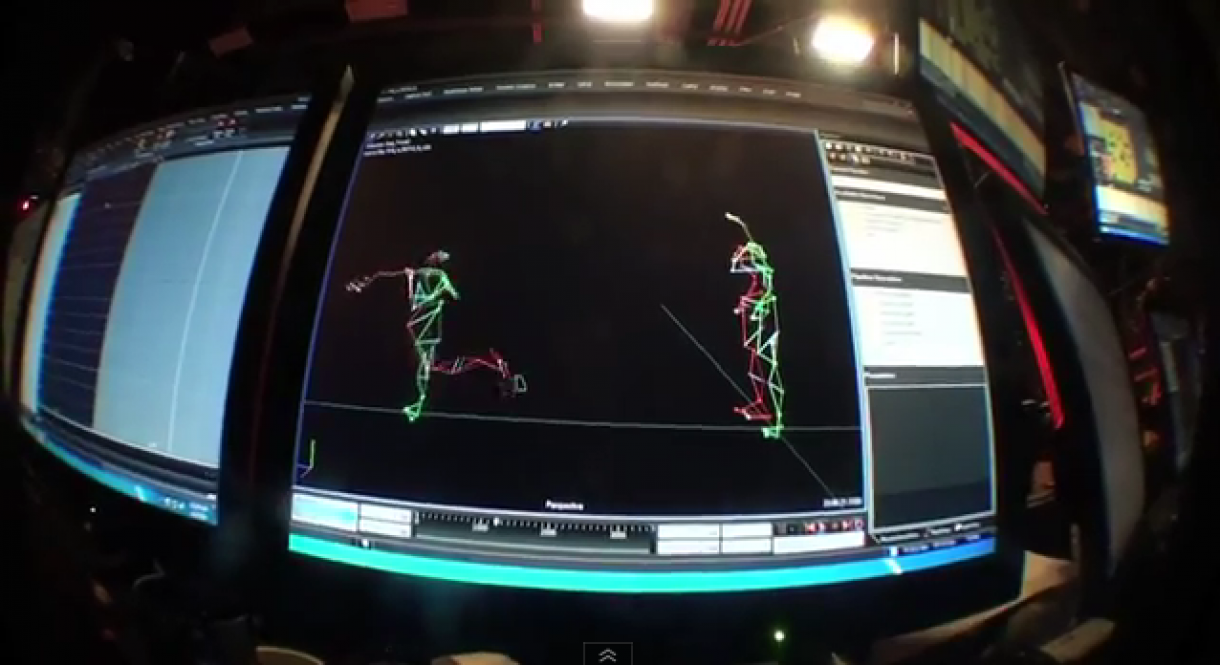 FIFA Street Motion Capture