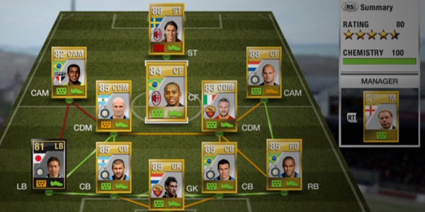 High Individual Ultimate Team Chemistry  Ultimate Team Player Chemistry vs Team Chemistry Serie A Ultimate Team 1