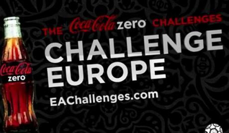 COKE ZERO Challenges  EA SPORTS UEFA EURO 2012 - Coke Zero Challenges EA Challenges