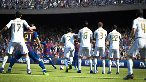 FIFA 13 Tactical Free Kicks
