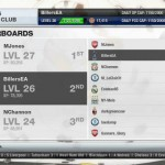 FIFA 13 EA SPORTS Football Club Leaderboards