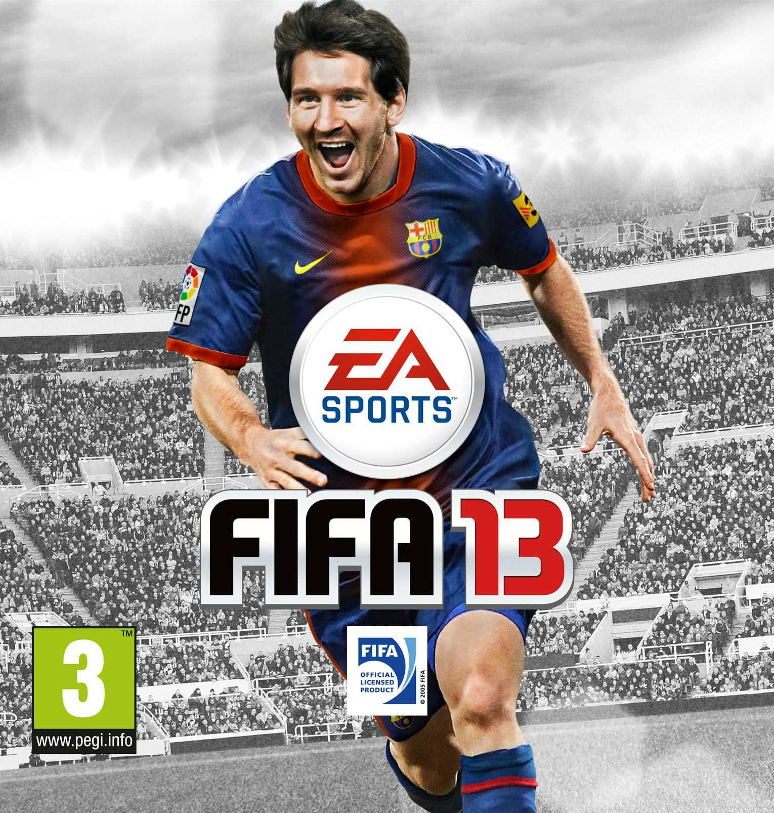 FIFA 13 Official Cover Revealed on Twitter