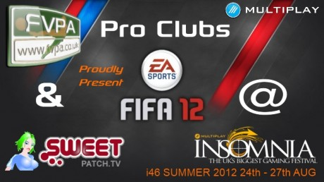 FIFA Pro Clubs i46 Multiplayer Insomnia  FIFA Pro Clubs Comes To i46 - Multiplayer Insomnia fvpasweeti46
