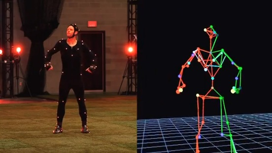 FIFA 13 Motion Capture Session
