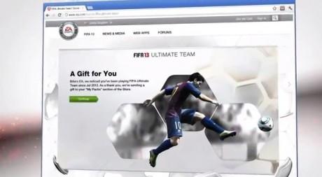 FIFA 13 Rewards  FIFA 13 Ultimate Team Screenshots FIFA 13 Rewards