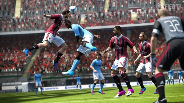 FIFA 13 Screenshots Antonini  FIFA 13 Screenshots From Gamescom fifa 13 antonini